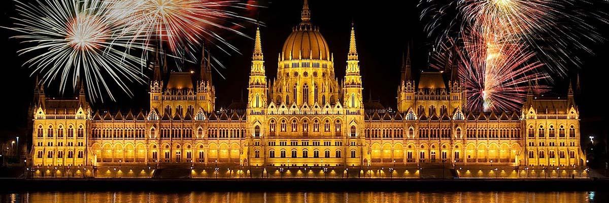 ブダペスト(ハンガリー) の夜景