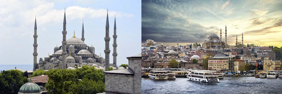 ブルーモスク/イスタンブール(トルコ)