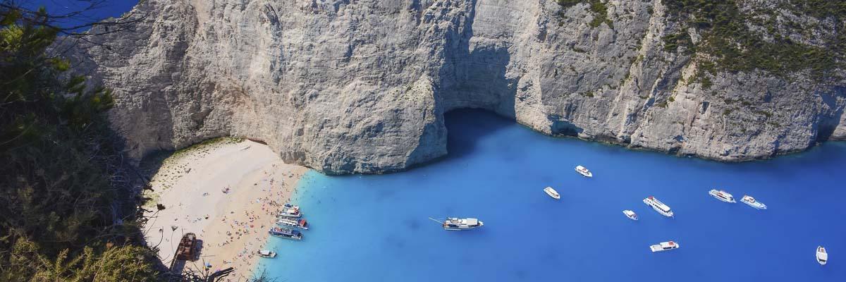 ナヴァイオビーチ/ザキントス島(ギリシャ)
