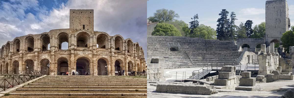 ローマ遺跡とロマネスク様式建造物群(フランス/プロヴァンス地方)